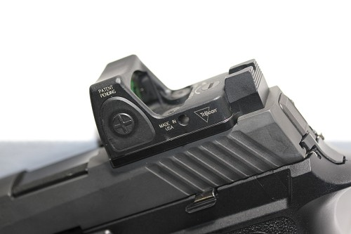 SIG 320 M17 RMR MOUNT W/INTEGRATED REAR SIGHT